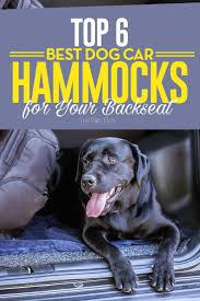 Top 6 Best Dog Car Hammocks for Dogs of All Sizes   Dog hammock ...