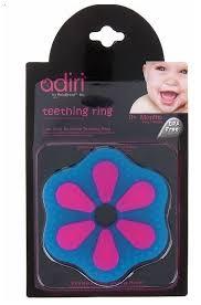 <b>Прорезыватель Adiri</b> Petal <b>Teething</b> Ring — купить по выгодной ...