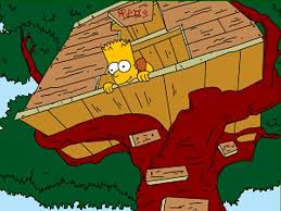 How your garden can save or make money this summer   This is MoneyHide out  Unlike Bart Simpson you   need planning permission to build a tree house