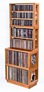 modular hand crafted furniture for lps cds dvdblu rays game discs cds furniture