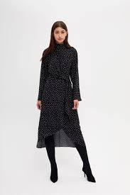 <b>Асимметричное платье</b> черный цвет - <b>Платья LIME</b>