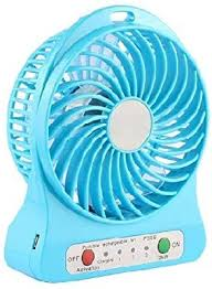 MAYUMI <b>USB Rechargeable Mini</b> Portable Fan: Amazon.in: Home ...