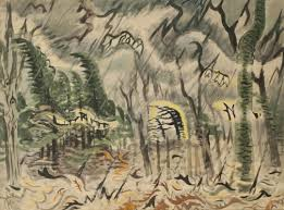 Spring Rain In <b>The Woods</b> > <b>Collection</b> > Burchfield Penney Art Center