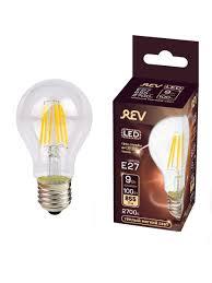 <b>Лампочка</b> светодиодная FILAMENT, груша E27 9W 2700K <b>DECO</b> ...