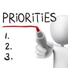 adhd learn skills on how to prioritize important tasks priorities word written by 3d man over white