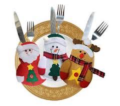household dining table set christmas snowman knife: christmas decoration snowman knife and fork bags creative home table dinner sets christmas snowman knife and fork sets flannel