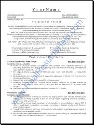 professional resume format getessay biz professional level resume samples resumesplanet throughout professional resume