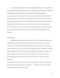 reflection on nursing essaythe core competencies