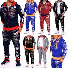 2019 <b>ZOGAA Brand New Men</b> Sweatsuits Casual Set Hoodies ...