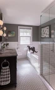 Hexagon Tile Floor Patterns Best 10 Hexagon Tile Bathroom Ideas On Pinterest Shower White