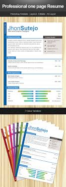 28 creative cheap resume templates resume psd template 4