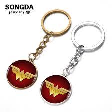 SONGDA Super Heroes Key Ring DC Comic <b>Justice League</b> ...