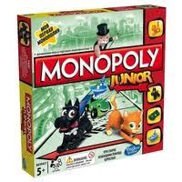 <b>Настольная игра Monopoly</b> Моя первая Монополия ...