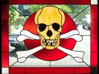 99 Stained <b>Glass</b> - <b>Skulls</b> ideas   stained glass, glass, stained glass ...