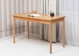 solid wood home office furniture office desk white oak natural finish modern luxury elegant computer desk cheap elegant furniture