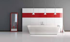 ideas red bathrooms pinterest bathroom
