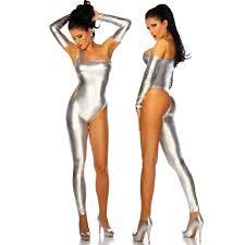 women sexy jumpsuits nightclub 2016 <b>PU</b> half sleeve long sleeve ...