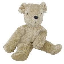 Senger <b>Organic Cotton</b> Plush <b>Teddy Bear</b> (Beige) – Oompa Toys