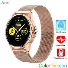 <b>Jeaper Smart Watch</b> R23 Adult Touch Waterproof Heart Rate Blood ...