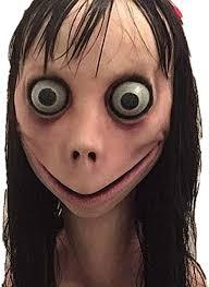 <b>Scary Momo</b> Mask <b>Hacking</b> Game <b>Horror</b> Latex Mask Full Head ...
