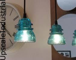 pendant lightglass insulatorkitchen islandlighting pendant lightingpendant lightsindustrial lightingsteampunkaquamarinevintage chandeliers and pendant lighting