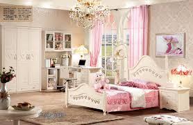 european princess wooden bedroom furniture set for kidschildrengirls with 12m bedcomputer deskbeside tablewardrobe prf817 china children bedroom furniture