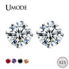 <b>UMODE</b> Women Kids Girls Small Sterling Silver 925 <b>Stud Earrings</b> ...