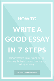 seven steps to writing an essay  seven steps to writing an essay