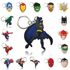 Online Shop <b>1pcs Cartoon</b> Figure Marvel Avenger Key Chain <b>PVC</b> ...