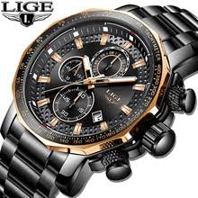 Relogio Masculino <b>LIGE</b> New Sport Chronograph <b>Mens Watches</b> ...