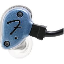 <b>Fender IEM NINE-1</b> In-Ear Monitoring Headphones - Gun Metal Blue ...