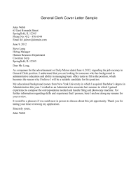 example of general cover letter template example of general cover letter
