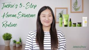 Jackie's 5-Step Korean <b>Skincare</b> Routine for Beginners - YouTube