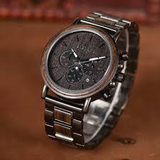 <b>bobo bird</b> w*q26-1 creative wooden chronograph quartz <b>watches</b> at ...