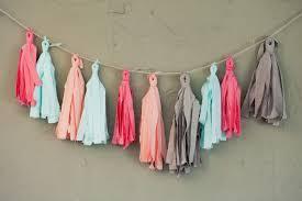 <b>How to Make</b> A <b>Fabric Tassel</b> Garland (No Sew!) | Pretty Prudent