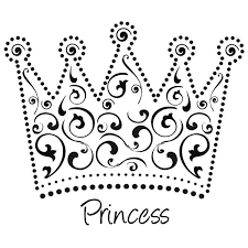 Small Picture Printable Princess Crown Coloring Pages Coloring Pages Free