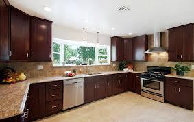 beech wood kitchen cabinets: x kitchen layout greencastle beech espresso kitchen cabinet