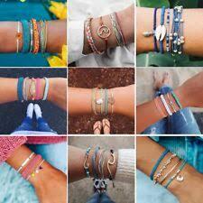 Feather <b>Bohemian</b> Beaded Costume Bracelets for sale | eBay