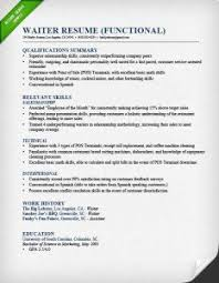 how to write a resume   resume geniuswaiter functional resume
