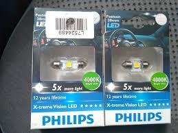 Перебои со светом ч.1: Салон, <b>багажник</b> (Philips X-treme Vision ...