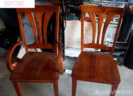 Stripping Dining Room Table A Bubbly Life How To Paint A Dining Room Table Amp Chairs Makeover