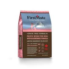 <b>FirstMate Pacific Ocean Fish</b> Meal With Blueberries Formula for Cats ...