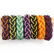 Nautical Striped Sailor Bracelet, Custom <b>Colors</b> - Choose Your Own ...