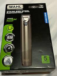 <b>Wahl</b> Beard and Stubble Trimmer Kit 9818-803X -<b>stainless steel</b> ...