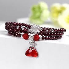 China silver <b>garnet bracelet</b> wholesale - Alibaba