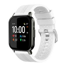 <b>TAMISTER</b> Strap Wristband for Haylou LS02 White Smart Watch ...
