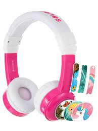 Наушники детские <b>InFlight</b> с микрофоном <b>BuddyPhones</b> 9901357 ...