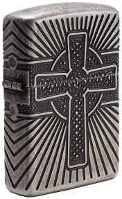 <b>Зажигалка Armor</b>® <b>Armor Celtic</b> Cross Design ZIPPO 29667 купить ...