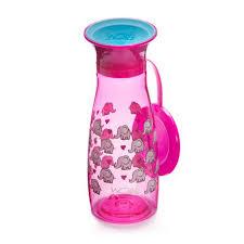 Wow® Cup Mini™ 360⁰ <b>Spill</b>-<b>Free</b> Cup - Pink Elephants - <b>12oz</b> ...