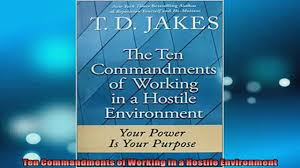 book a survival guide for working bad bosses dealing pdf ten commandments of working in a hostile environment online